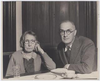 William Carlos Williams with his mother, Elena