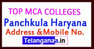 Top MCA Colleges in Panchkula Haryana