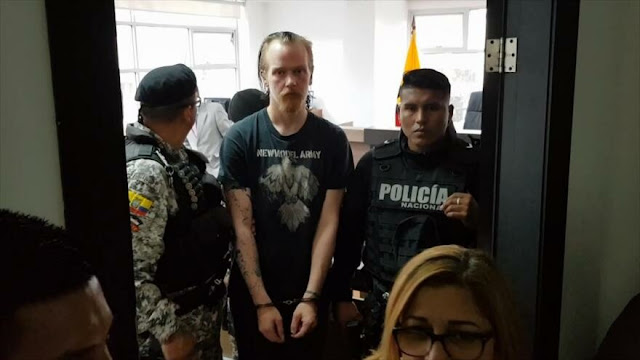 Amigo de Julian Assange fue detenido ilegalmente en Ecuador