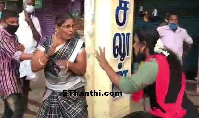 கன்னியாகுமரி மாவட்டத்தில் பெண்ணே பெண்ணை தாக்கிய சம்பவம் !