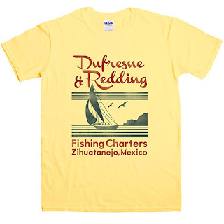 Shawshank Redemption, Dufresne And Redding Fishing Charters, T Shirt, Stephen King T Shirts, Stephen King Store