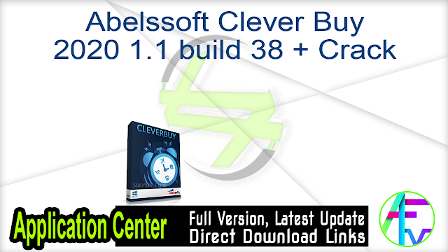 Abelssoft Clever Buy 2020 1.1 build 38 + Crack