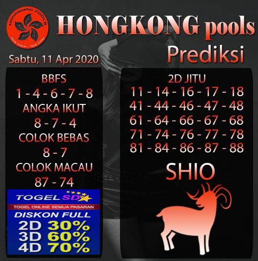 Prediksi Togel Hongkong Sabtu 11 April 2020 - Prediksi Hongkong Pools
