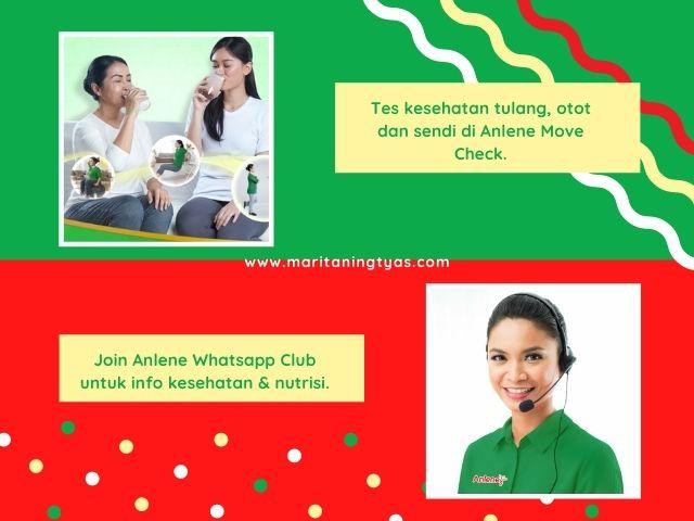 Anlene Move Check dan Anlene Whatsapp Club