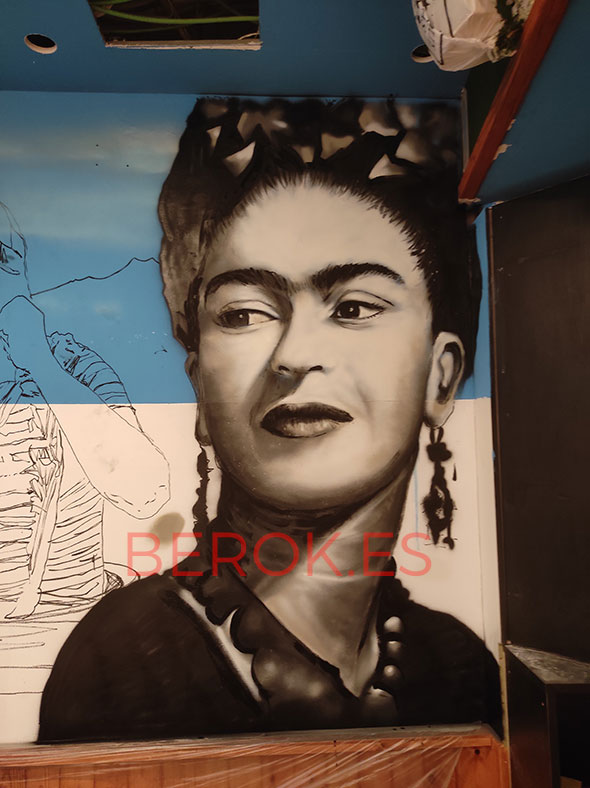 Graffiti Frida Kahlo