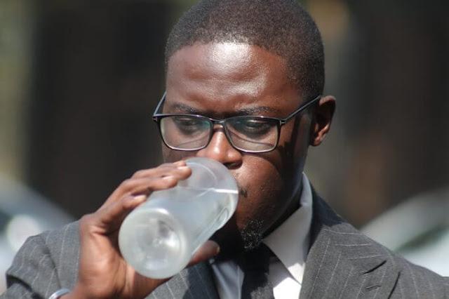 Nairobi Senator Johnson Sakaja pleads guilty for flouting curfew rules photos at ladies lounge