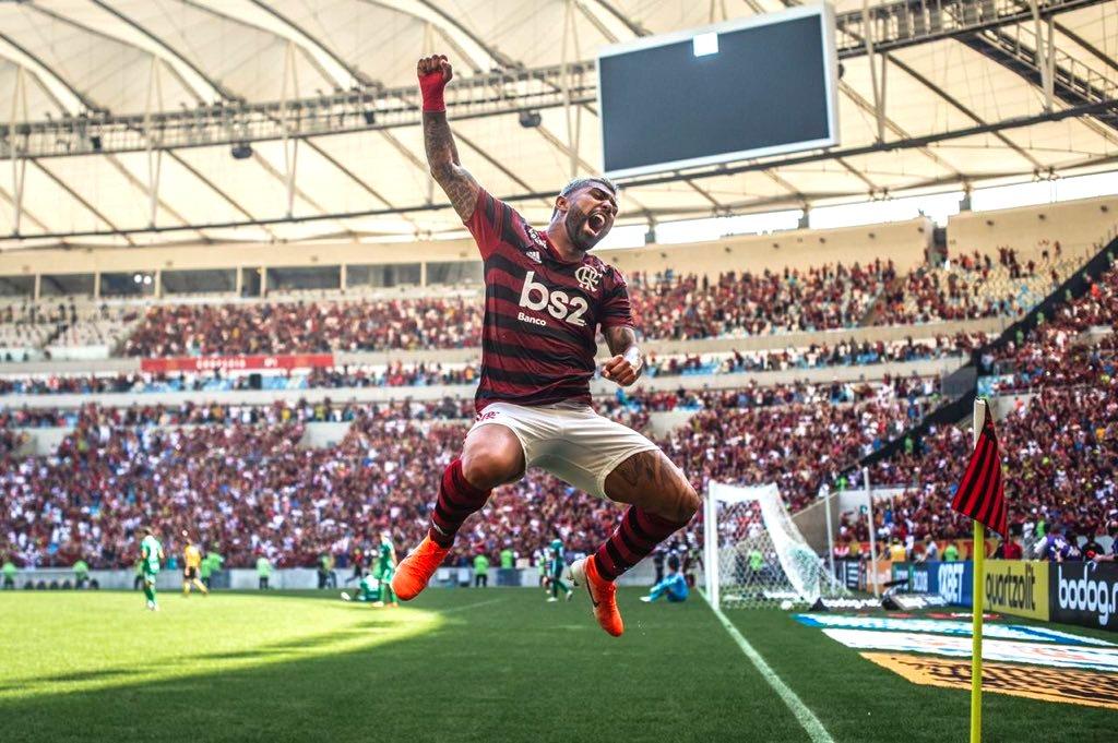 Gabigol, Do Flamengo, Abre 2 Gols Na Artilharia Do