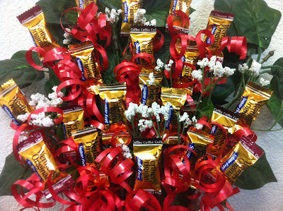 Is your Mom or best friend a Diabetic? Let them celebrate Mother's Day with a yummy candy bouquet made from Werther's Sugar Free candies with this tutorial on how to make a candy bouquet.
