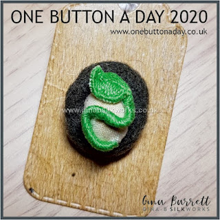 One Button a Day 2020 by Gina Barrett - Day 5 : Beginnings