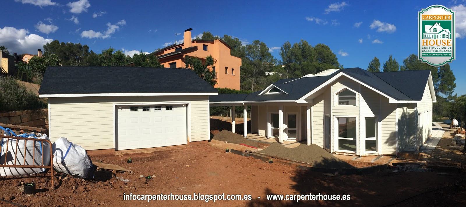 Carpenter house 6 fase construcci n casa en el vall s - Casas en valles occidental ...