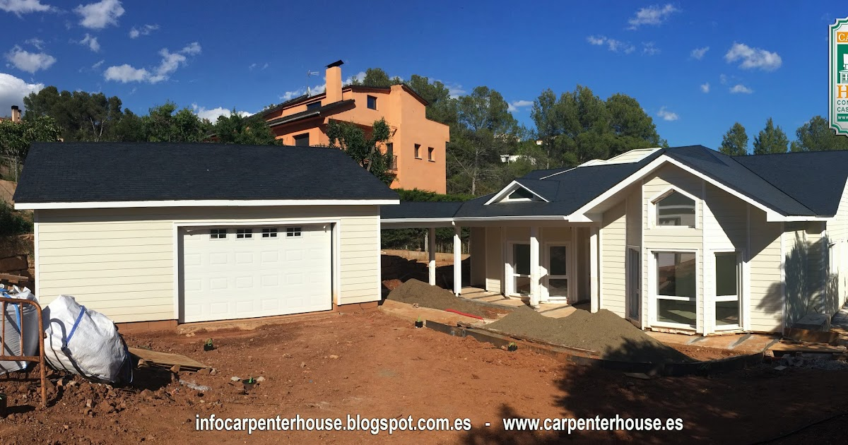 Carpenter house 6 fase construcci n casa en el vall s - Casas en el valles occidental ...