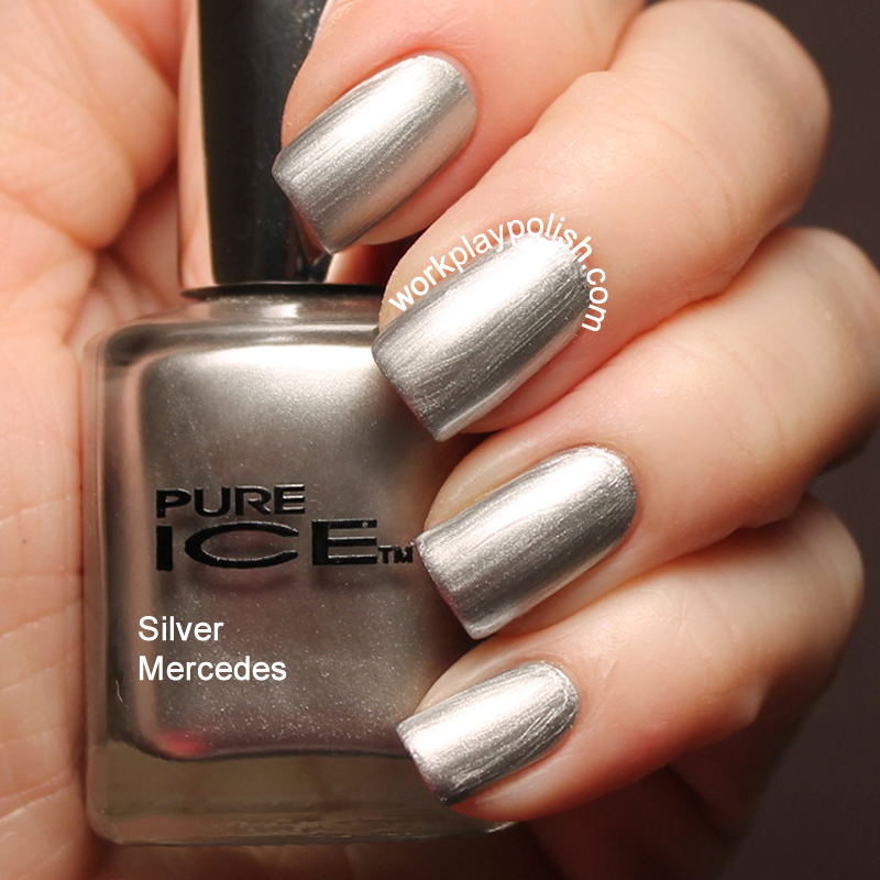 Pure Ice Silver Mercedes (work / play / polish)