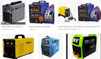Harga dan jenis mesin las listrik inverter