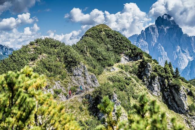 Trail Downhill Monte Agar Tolmezzo Udine Friaul