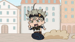 Mugyutto! Black Clover Episodio 03