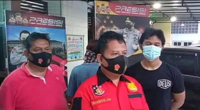 Kanit Reskrim Rianto SH Senin (1/03/2021), mengatakan kepada para Awak Media