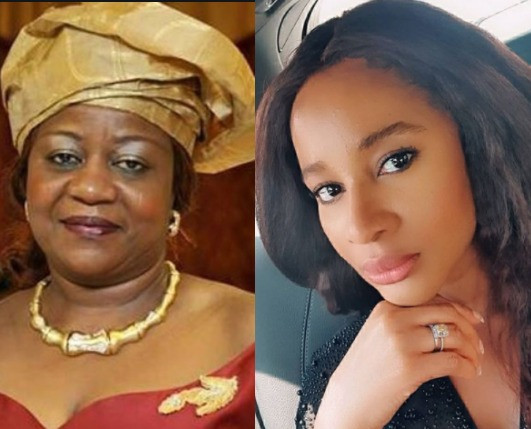 'You are a disgrace. Both home and abroad' - Adesua Etomi-Wellington slams Lauretta Onochie