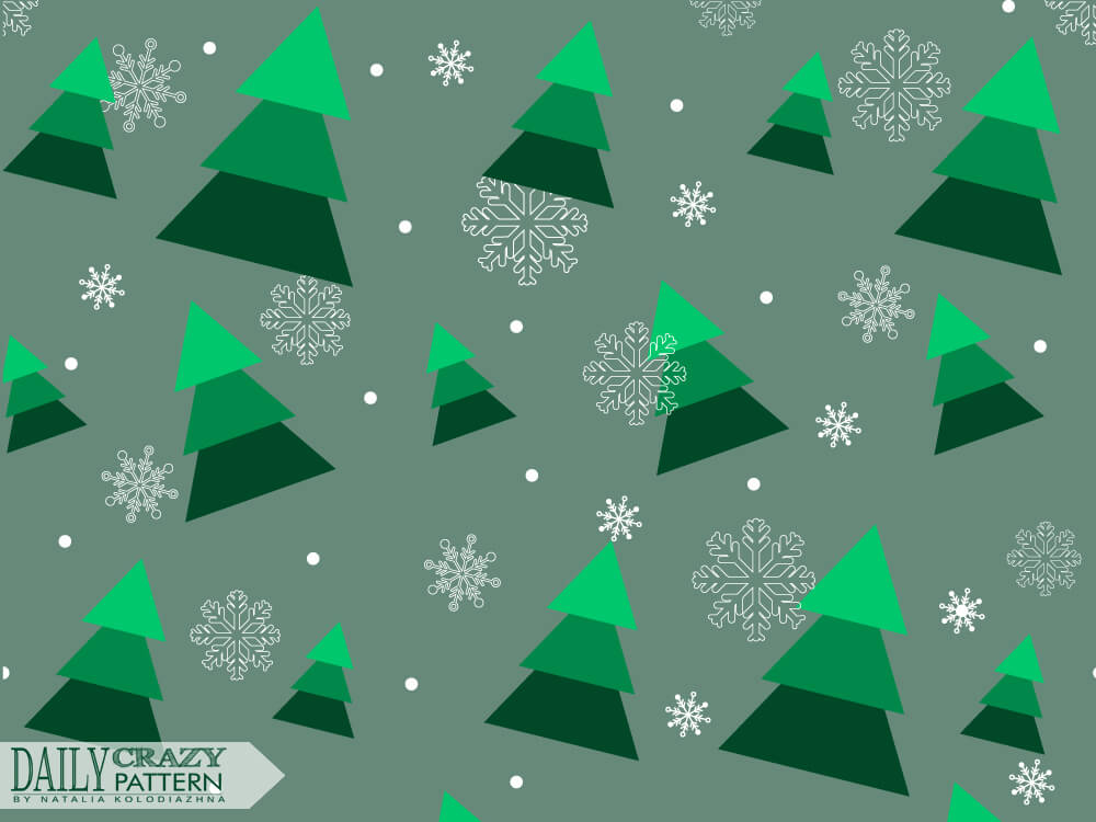 Fir-tree pattern