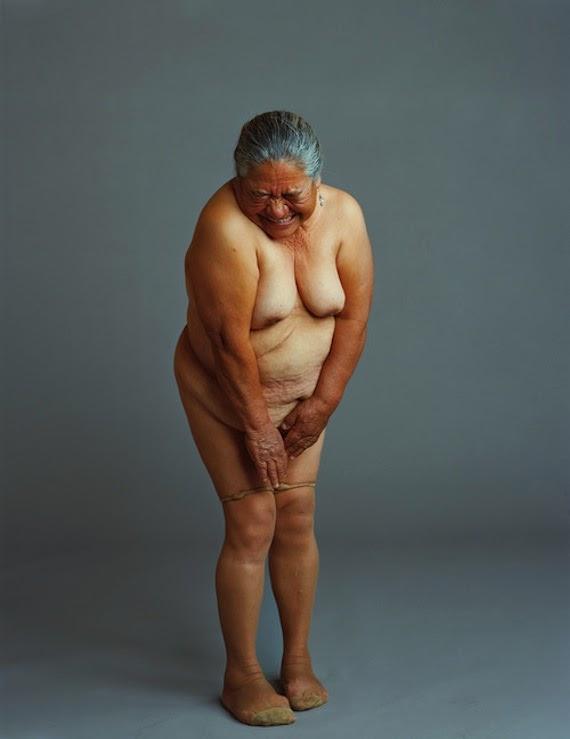 Abuela fea de buen cuerpo modela para mi - 1 part 7