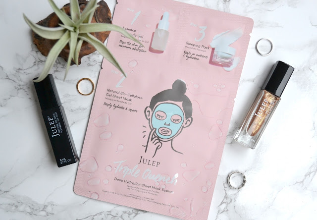 Julep Triple Quench Deep Hydration Sheet Mask System Review