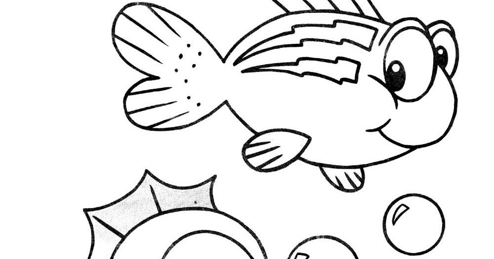 Desenhos Para Pintar: Peixes Para Pintar Variados
