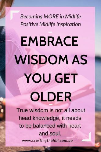 True wisdom is not all about head knowledge, it needs to be balanced with heart and soul. #wisdom