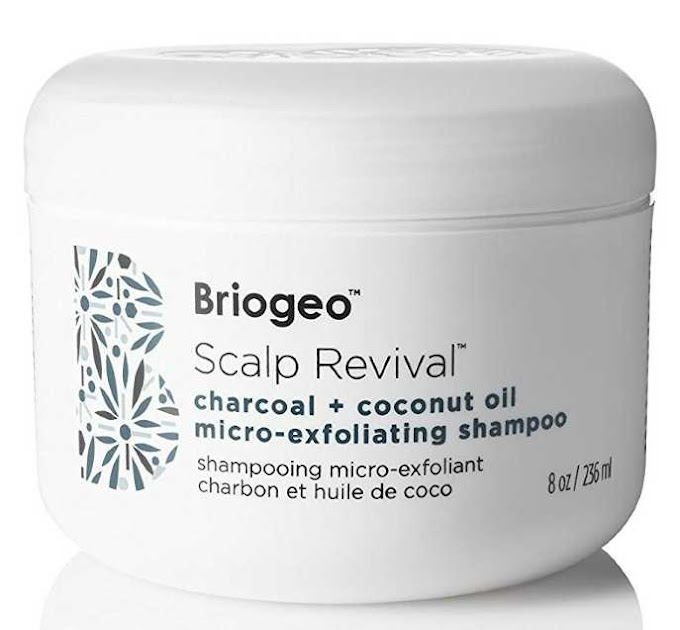 Briogeo Scalp Revival Charcoal and Coconut Oil Micro-Exfoliating Shampoo, 8 Ounce/236 ml