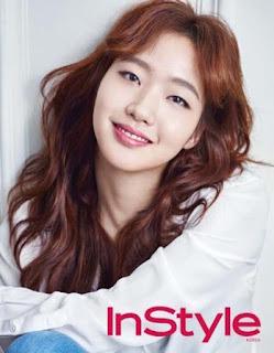 Kim Go Eun Ketika Menjadi Model Majalah InStyle Korea