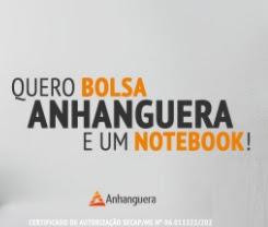 Cadastrar Promoção Quero Bolsa Anhanguera Mix 2021 Rádio - Bolsa de Estudos e Notebook