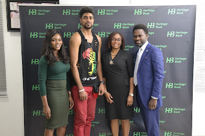 Evicted Big Brother Naija Housemate, Tony Commends Heritage Bank for Promoting Nigeria Culture