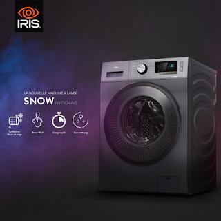 IRIS تعلن عن غسالتها الجديدة SNOW في الجزائر