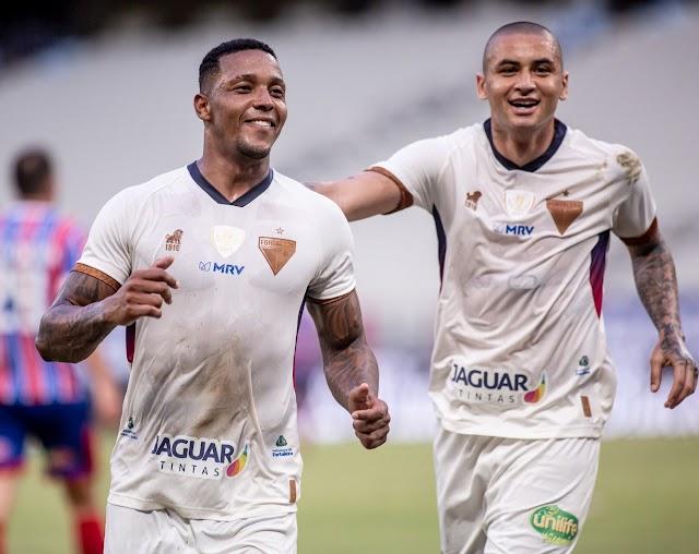 Fortaleza joga bem e consegue a classificação antecipada, na Copa do Nordeste