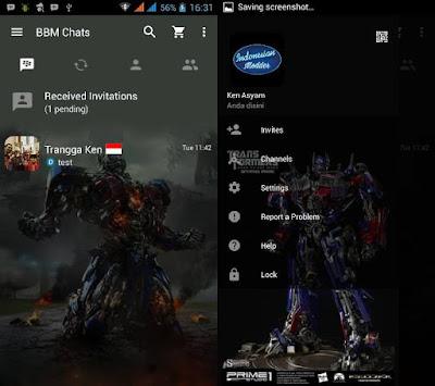 BBM Mod Optimus Prime