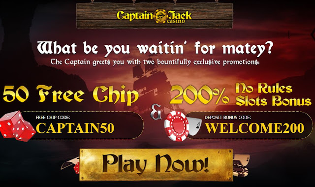 Captain Jack casino welcome offer