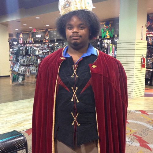 Medieval King Costume