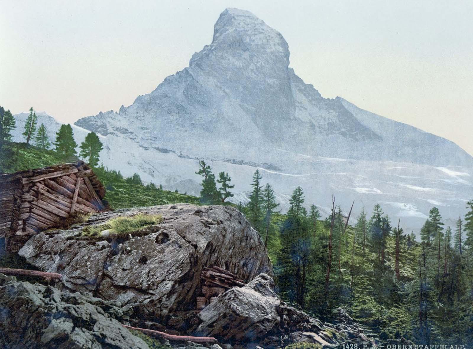 photochroms color photos Switzerland