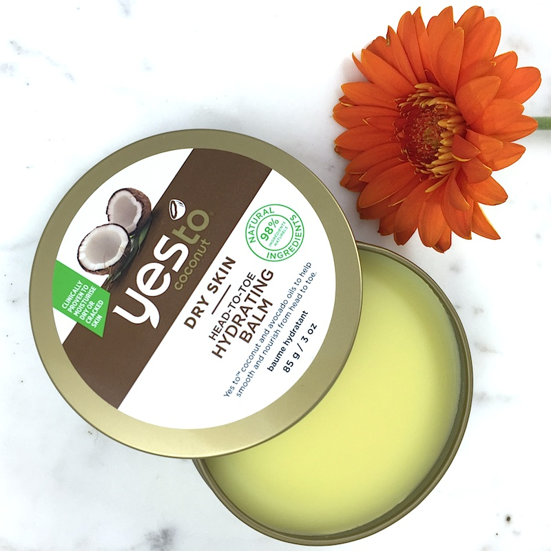 Yes to Coconut Dry Skin Head-to-toe Hydrating Balm: A quick review
