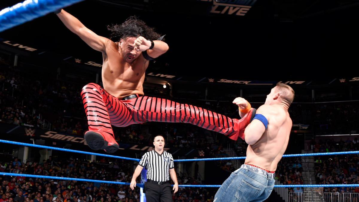 """Golpe errado em John Cena pode ter cortado o """"push"""" de Shinsuke Nakamura na WWE"""