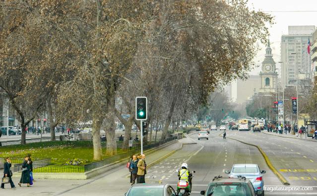 Avenida Libertador Bernardo O'Higgins, Santiago do Chile