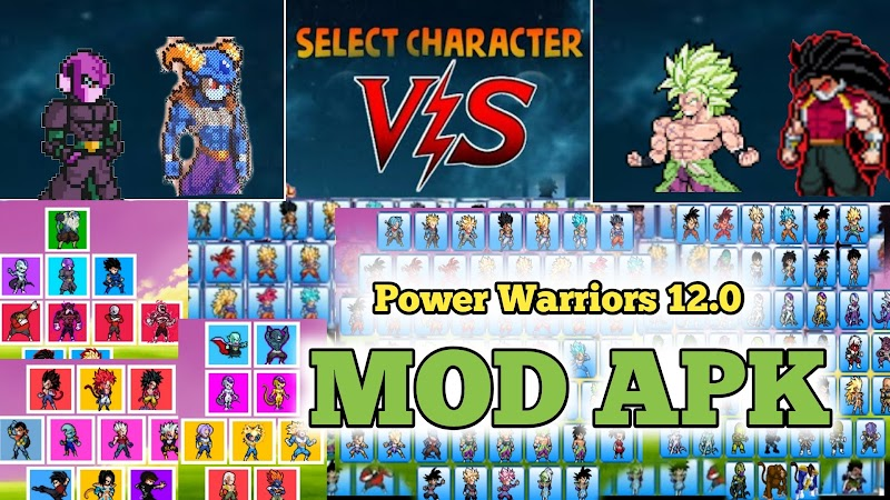Dragon Ball Z Game Power Warriors Hacked 12.0 version Download