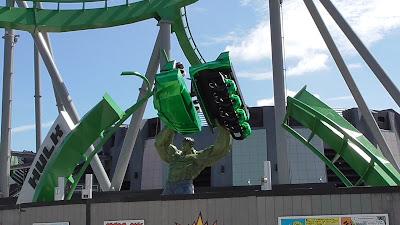 New Hulk Statue at Universal Orlando