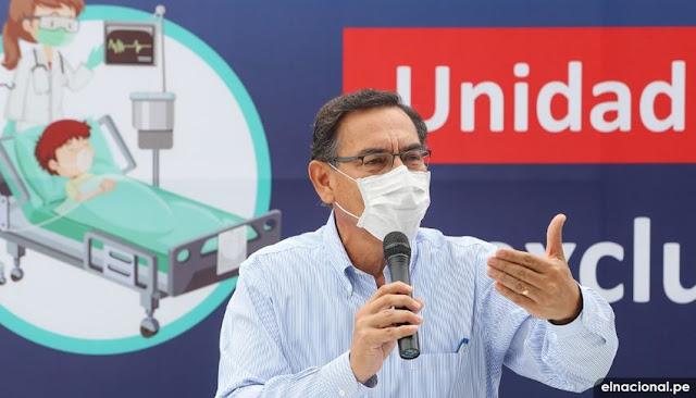 El 80% de peruanos aprueba gestión del presidente Martín Vizcarra, según última encuesta del IEP