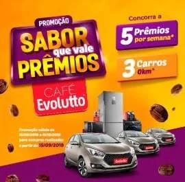 Cadastrar Promoção Café Evolutto Sabor Que Vale Prêmios Carros e Muito Mais