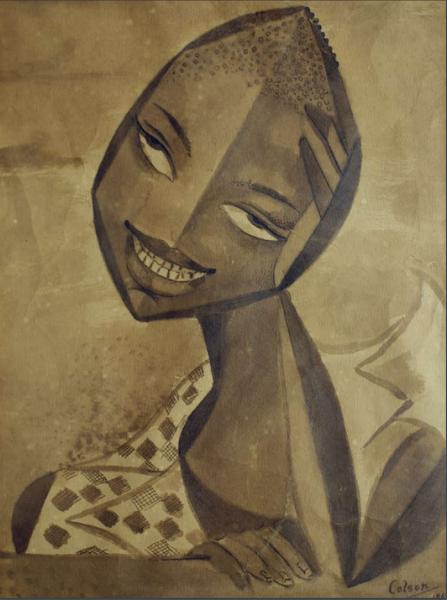Dibujo: Serie Haitiana, 1957