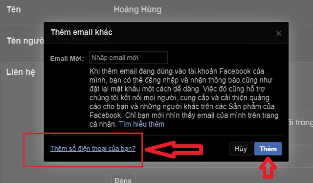 đổi tên đăng nhập Facebook_7