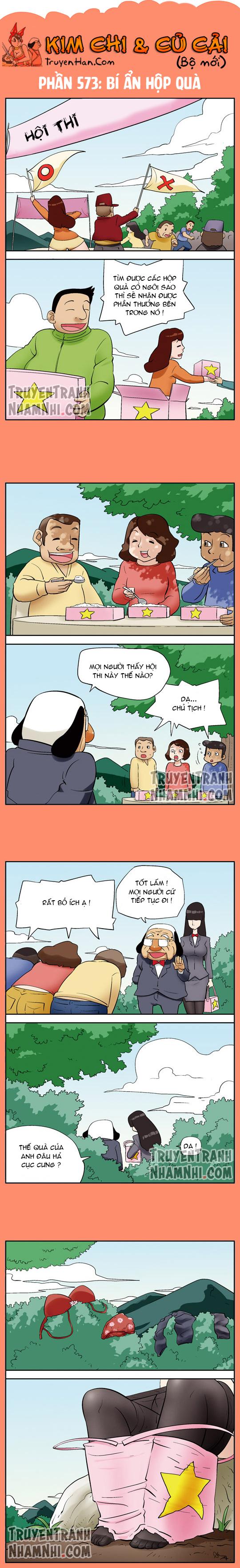 Kim Chi Và Củ Cải phần 573: Bí ẩn hộp quà
