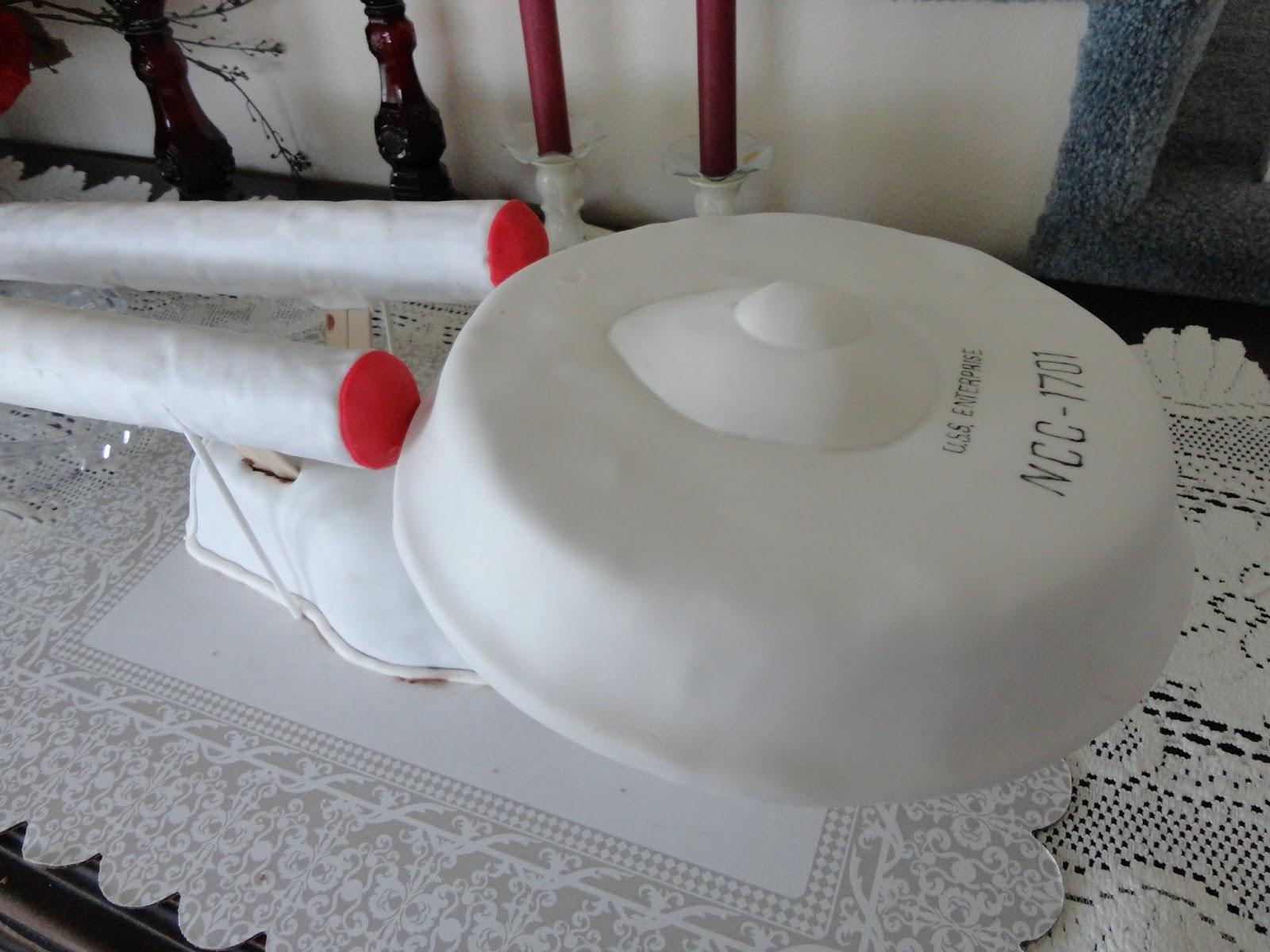 The Adventures Of J And K Star Trek Enterprise Cake