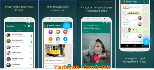 Download WhatsApp Messenger Versi 2.12.413