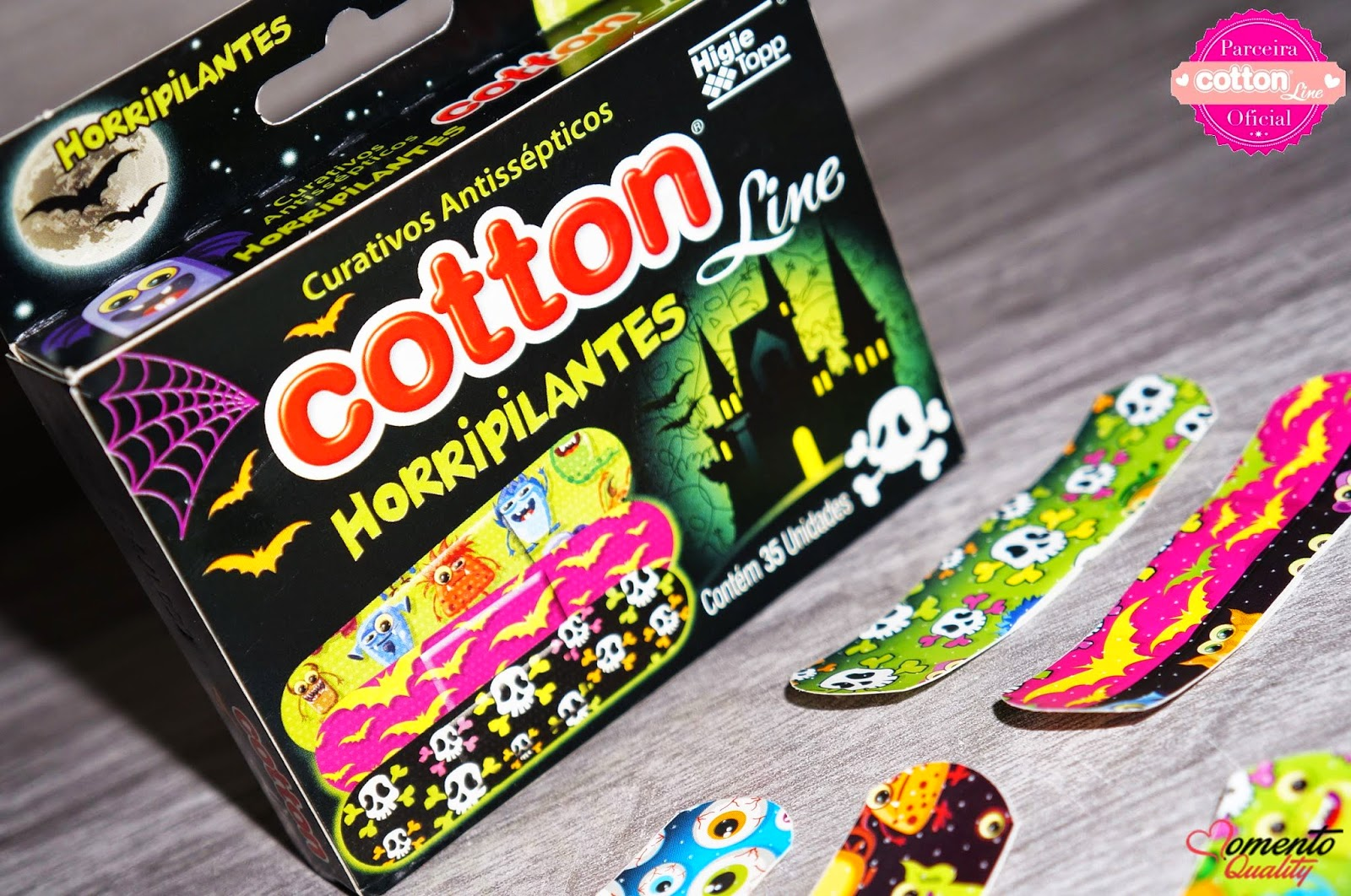 Curativos Horripilantes Cotton Line
