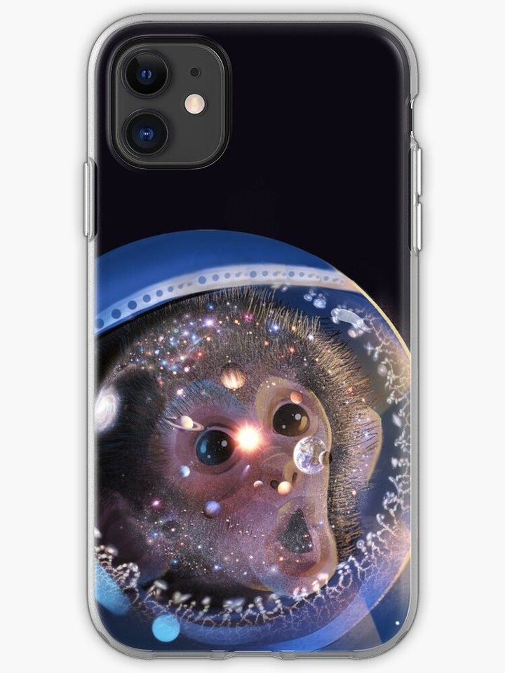 Awe Space Monkey Phone or Tablet Soft Cases